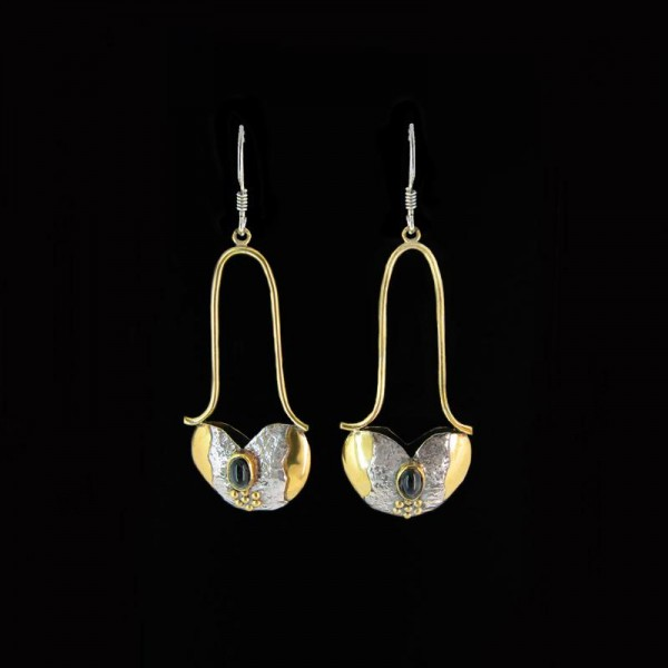 Artistic earrings E 522