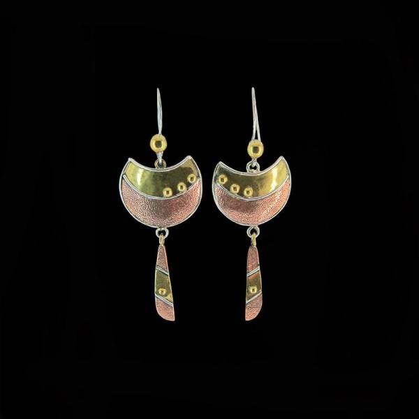 Artistic earrings E 536