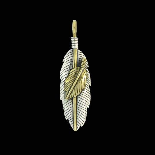 Artistic Pendant Feather